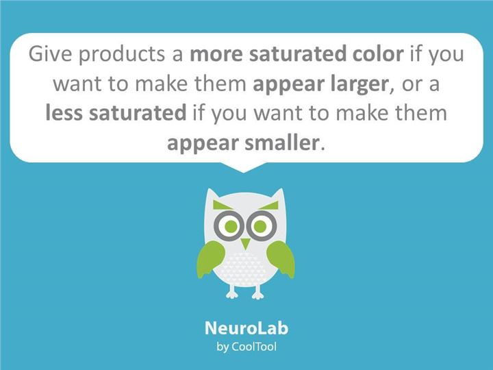 neuromarketing facts about saturated colors