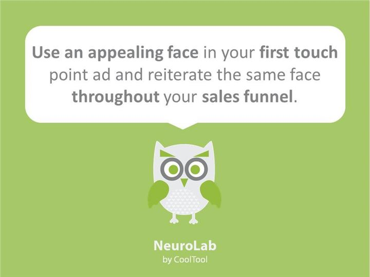 neuromarketing facts about faces on advertisement