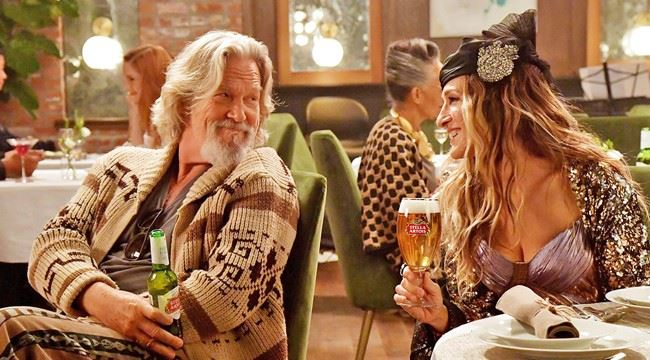 Stella Artois ad with Sarah Jessica Prker and Jeff Bridges