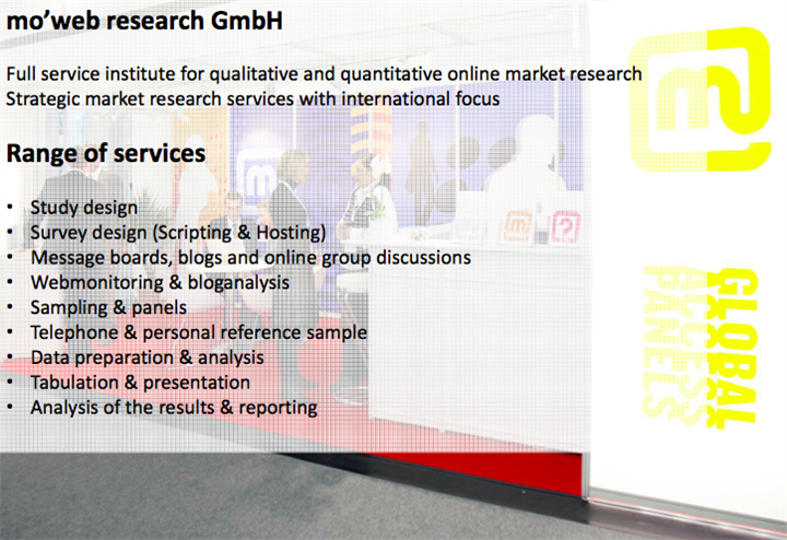 mo'web research Germany B2C